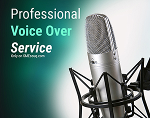 I will do Professional Voice over Service
